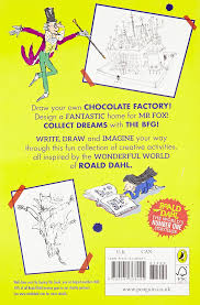 10 Children S Books That Inspire Creativity In Roald Dahl Scribble Book Roald Dahl 9780141368245 Books