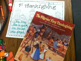 the first thanksgiving book team j u0027s second grade fun five for friday well saturday
