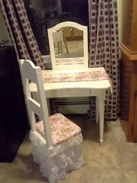 child s dressing table and chair found a cute second hand child s vanity with no chair i painted and