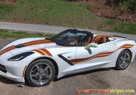 white c7 corvette c7 corvette stingray side stripes both sides vettestripes com