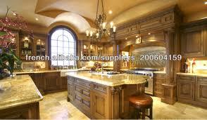 des cuisines en bois modele de cuisine en bois massif mzaol com
