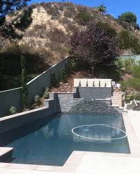custom pools and jacuzzi san diego landscape services modern image