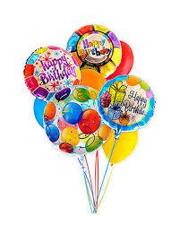 balloon arrangements nj birthday assorted balloon bouquet in raritan nj angelone s florist