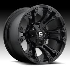black wheels fuel vapor d560 matte black custom truck wheels rims truck