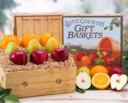 country wine gift baskets farm fresh fruit collection gift basket at wine country gift baskets