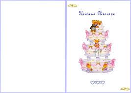 carte mariage ã imprimer carte a imprimer mariage
