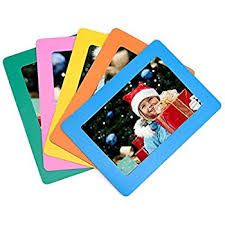 bulk buy pack of 10 magnetic photo fridge frames clear 4x6