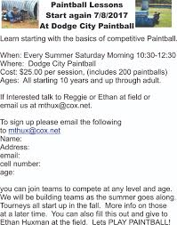 dodge city paintball and laser tag of okc
