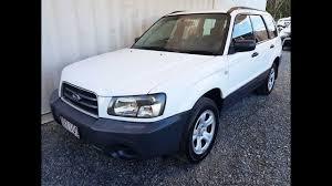 subaru awd wagon 4cyl awd wagon subaru forester x 2003 for sale youtube