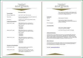 Vitae Resume Template 13 Curriculum Vitae Sample Job Application Applicationsformat Info