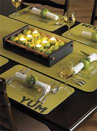 table runner or placemats home hardware table yummers placemat and table runner