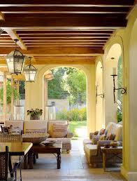 Tuscan Garden Decor Mediterranean Outdoor Decor With Deck Deck Mediterranean And