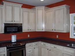 glazed kitchen cabinets cream glazing kitchen cabinets for