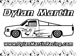 dirt late model coloring pages eson me