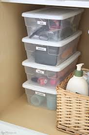 How To Organize Under Your Bathroom Sink - how i simplified and organized my house room by room organizing