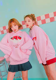 strawberry sweater pink strawberry sweater pullover neeio store