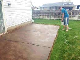 how to paint old concrete patio floor how to paint cement porch