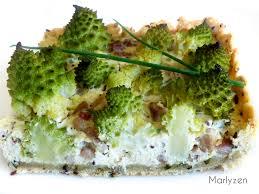 cuisiner un chou romanesco tarte à la ricotta et au chou romanesco marlyzen cuisine revisitée