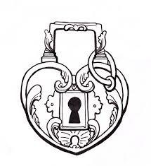 heart lock body art pinterest tattoo tatting and body art