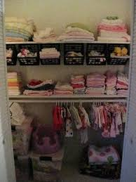 nursery closet organizational ideas reality daydream