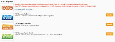 Tnt Express International Quels Services De Transport Envoi Centre D Aide Oxatis