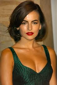 medium length swing hair cut camilla belle medium length retro hairstyle with an inward swing