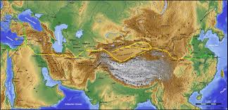 Central Asia Map by Central Asia Mongol Empire To The Timurid Dynasty