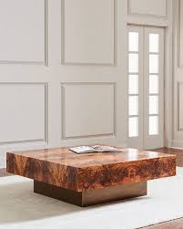 Accent Coffee Table Designer Coffee U0026 Accent Tables At Neiman Marcus