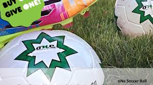 hand sewn match quality soccer ball buy one give one by olivia