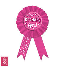 birthday ribbon award ribbon birthday girl