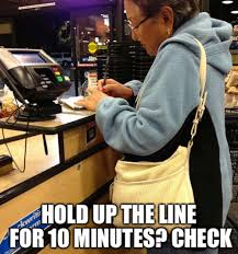 Grocery Meme - the 10 worst types of grocery shoppers