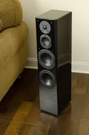 Svs Bookshelf Speakers Amazon Com Svs Prime Tower Speaker Black Ash Each Electronics