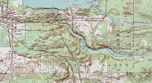 Minnesota Topographic Map Topo Maps For Day Hiking Trails In Jay Cooke State Park