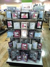 homegoods rhinestone frames end cap merchandising projects