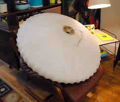 large george nelson bubble lamp circa