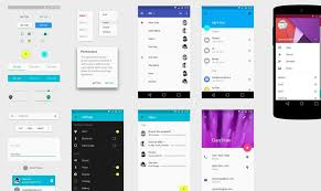 android gui designer 30 free material design ui kits templates icon sets ui kit
