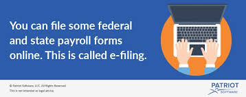 E Filing What Is E Filing For Payroll Forms