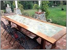 tile table top design ideas outdoor tile table top awesome outdoor patio table tops need ideas
