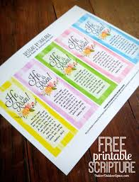 printable easter bookmarks to colour free printable scripture he is risen easter bookmarks printables