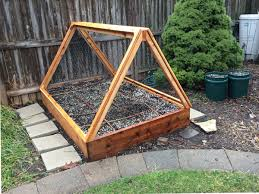 Raised Garden Beds How To - how to build a covered raised garden bed rather square