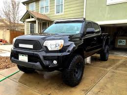 tacoma grill light bar tacoma trd roof and grill mounted led light bar 2015 01