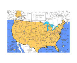Map Of The United States And Mexico by Maps Of Usa Detailed Map Of United States Of America In English