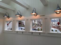 Barn Wall Sconce Kenzie Coastal Style Weathered Wood Bent Arm Sconce Beach Style