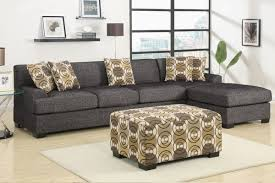Microfiber Sofa With Chaise Lounge by Furniture Stylish Addition To Any Family Room Using Microfiber