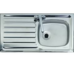 Shallow Bowl Kitchen Sink Ideal For Disabled  Wheelchair Users - Single bowl kitchen sinks