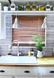 Chic DIY Brick And Faux Brick Kitchen Backsplashes Shelterness - Diy backsplashes
