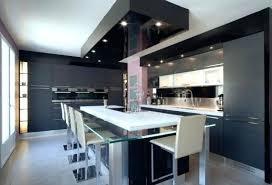 grande cuisine avec ilot central grande cuisine moderne skconcept cuisine armony daumesnil moderne