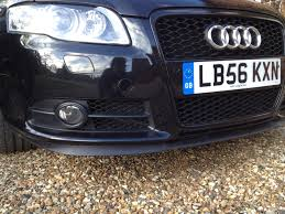 all you need to know about b7 front bumper grilles well allmost