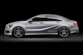 a3 mercedes mercedes a class saloon planned to take on audi a3 saloon