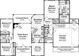 ranch floor plans with split bedrooms variety bedroom 59377nd f1 split house plans hedia